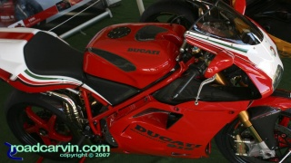 1995 Ducati 916: Massimo Tamburini set the motorcycle world on fire with the sleek styling and performance of the Ducati 916 released in 1993. This is a beautiful 1995 example.